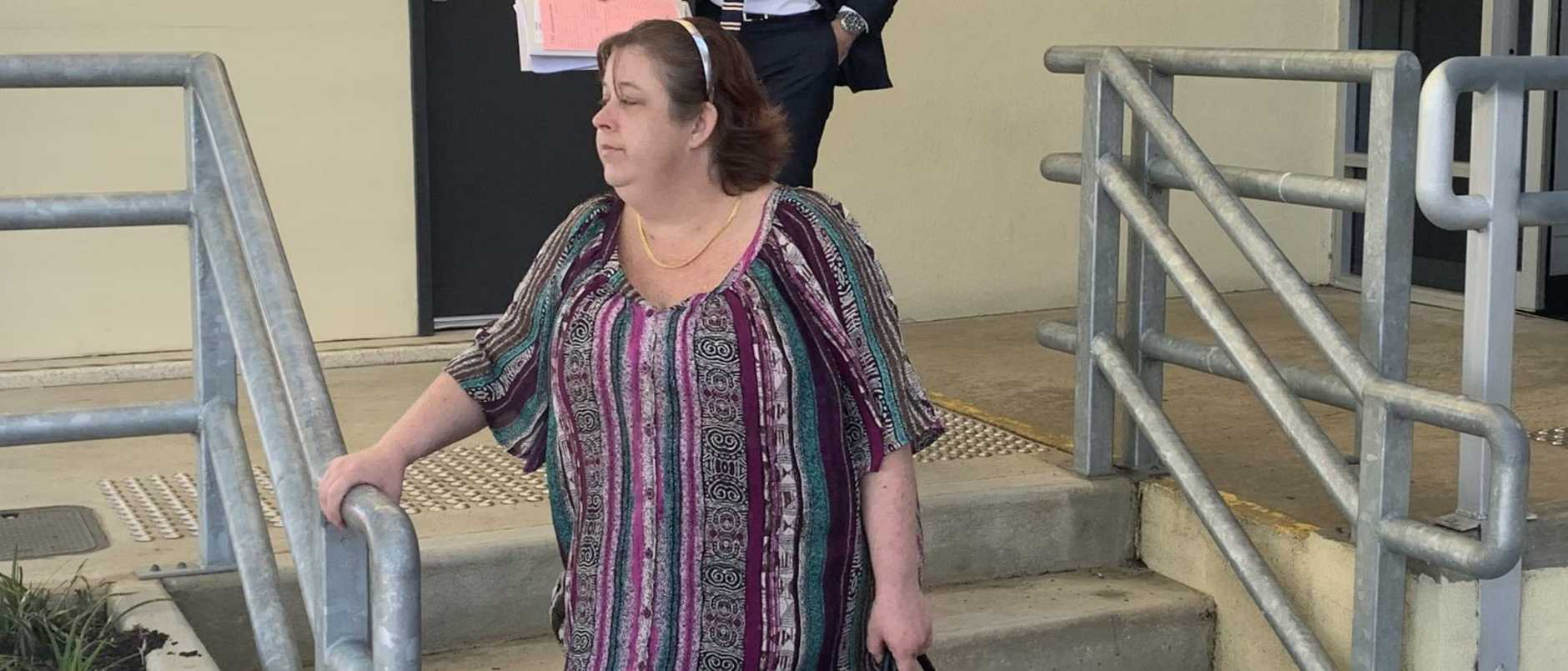 A woman has shown no remorse for ripping off bushfire victims and stealing Christmas presents and goods intended for victims of a fire.