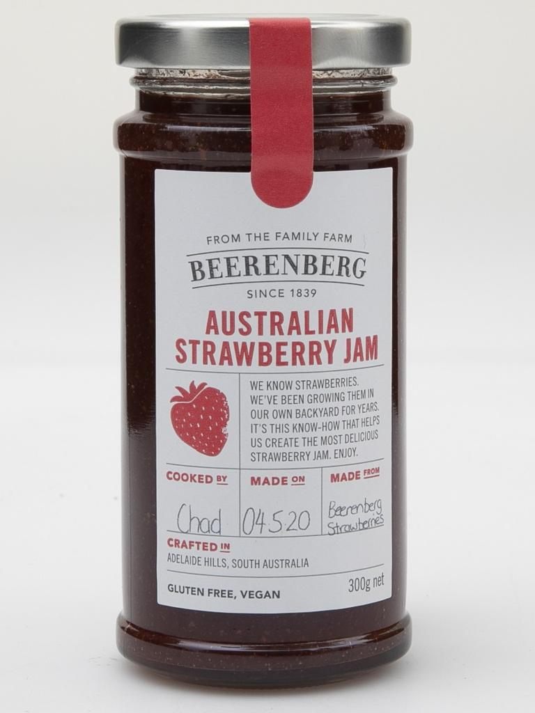 Beerenberg Australian Strawberry Jam has been crowned Australia's best strawberry jam in a Choice test.
