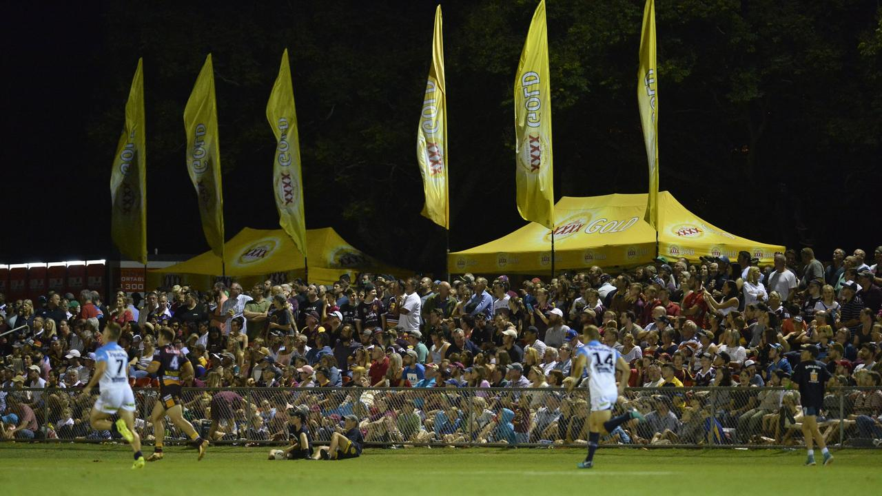 The Toowoomba Sports Ground has proven it is up to NRL standard. Photo: Kevin Farmer
