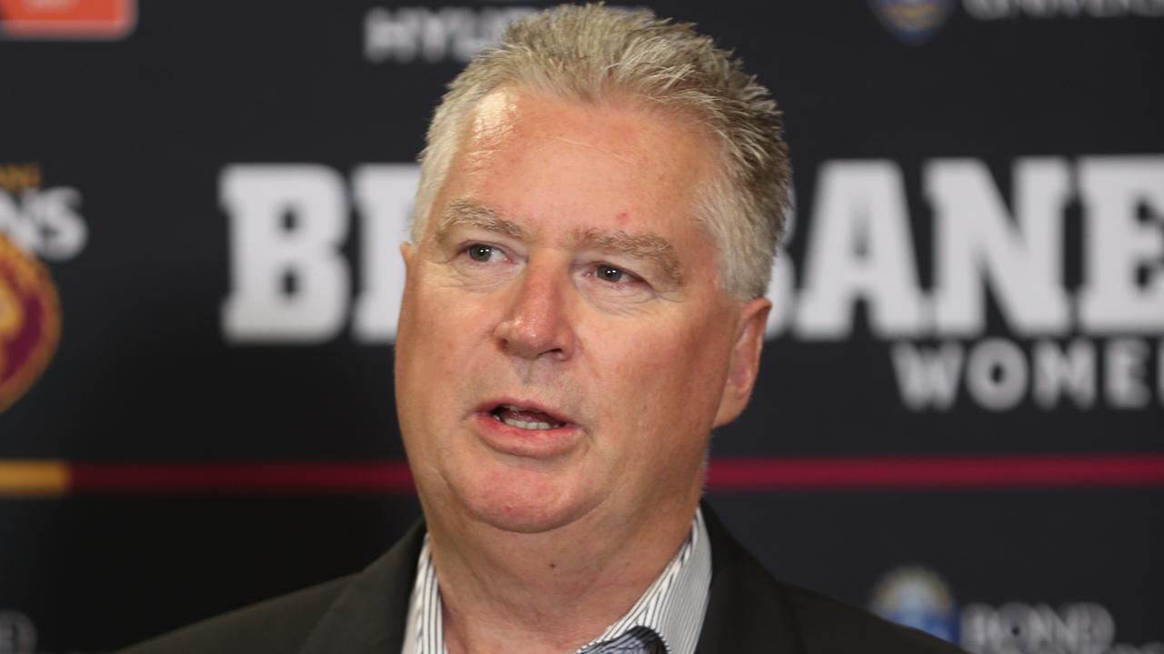 Brisbane Lions CEO Greg Swann. Picture: Annette Dew