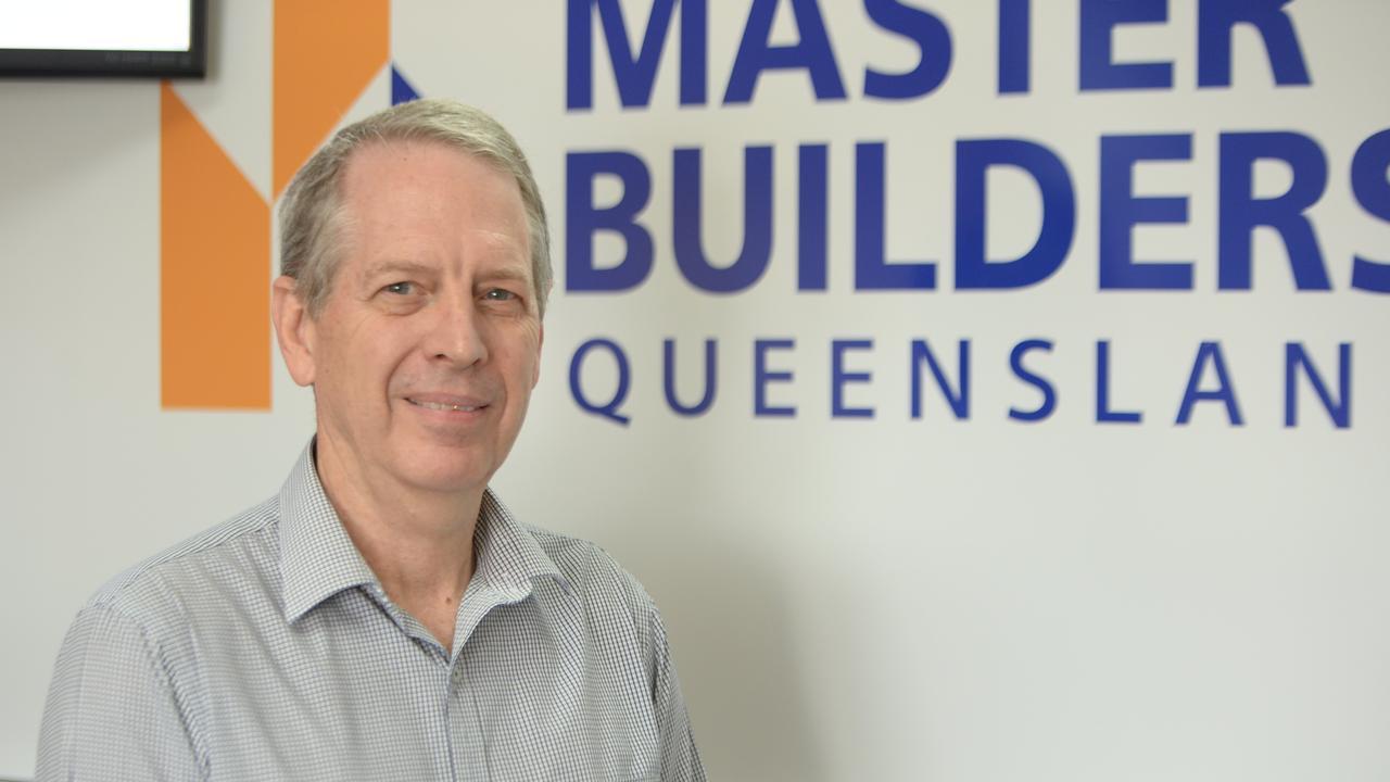 Master Builders Mackay Whitsunday regional manager Malcolm Hull.
