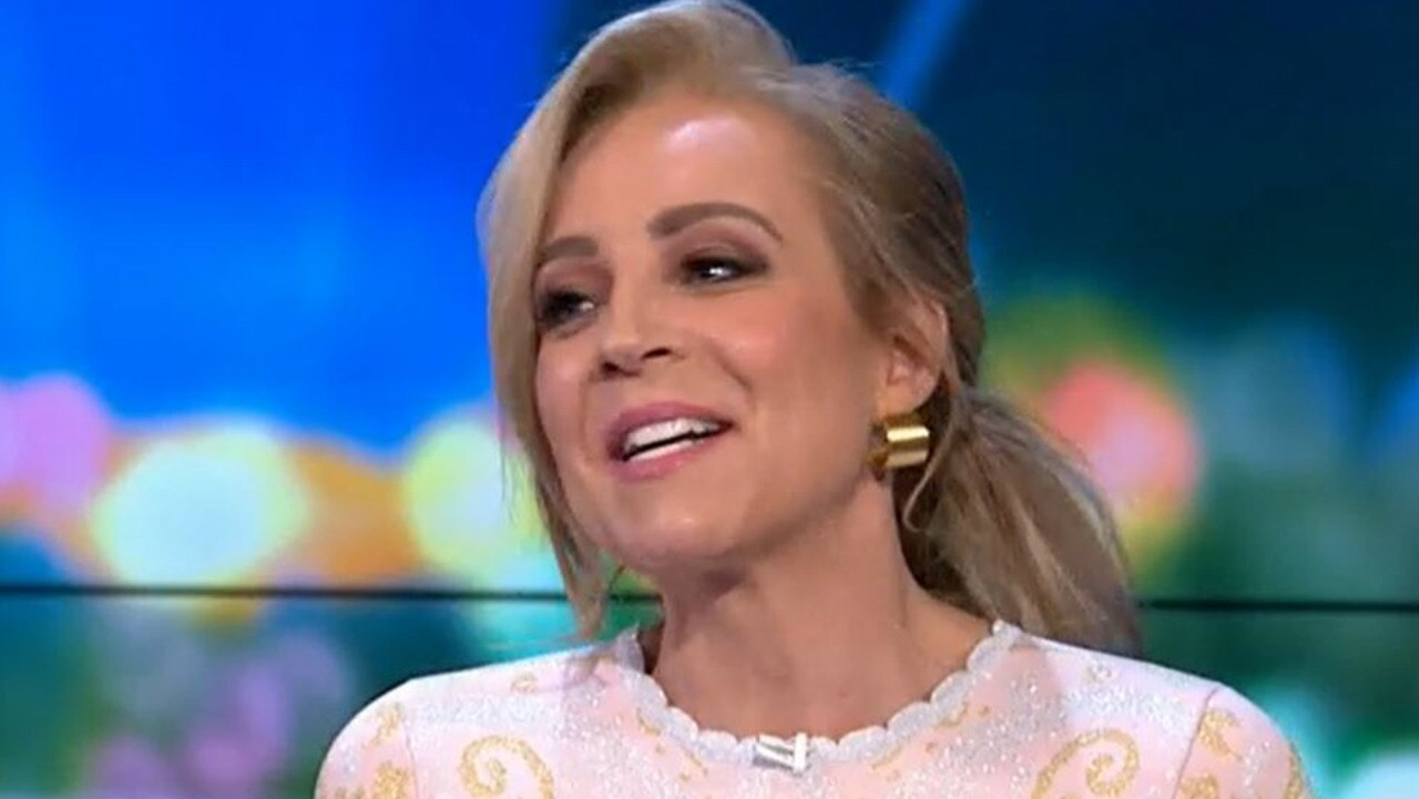 Carrie had her fellow Project panellists in stitches with her story. Picture: Channel 10