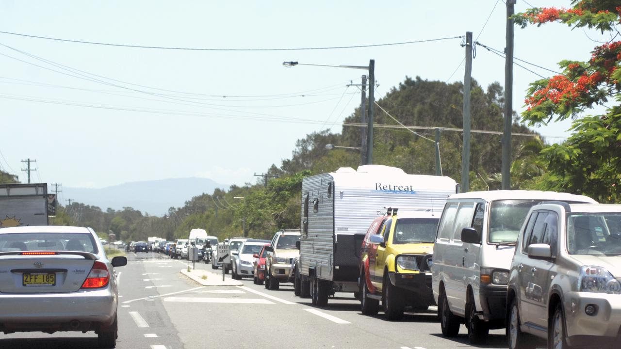 Council said the project has been timed to coincide with what is typically the quietest time of the year in Byron Bay. Photo: Marc Stapelberg / The Northern Star