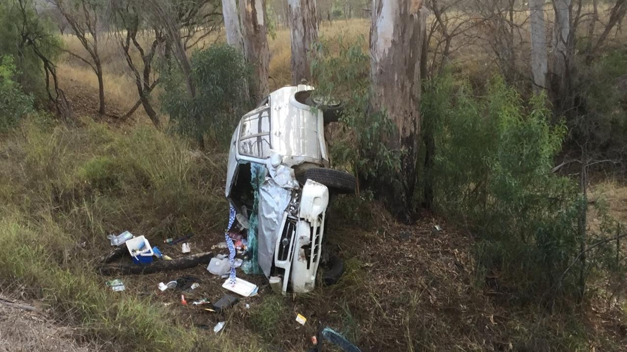 FIVES TIMES THE LIMIT: The 43-year-old man who crashed his vehicle in June has now been formally charged with high range drink driving. Picture: Contributed