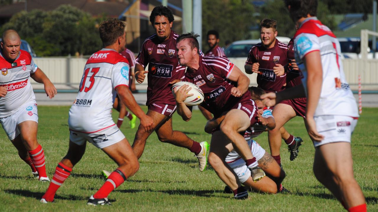 NRRRL'S BACK: On July 19 the 2020 season gets going Casino Cougars will take on Marist Bros and Byron Bay Red Devils will play Cudgen Hornets. Photo: Brian Olive