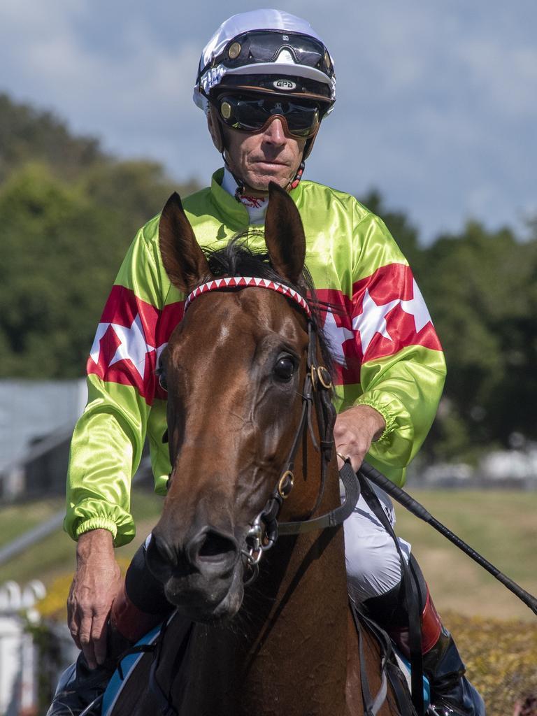 Jockey Michael Cahill. Picture: Greg Irvine