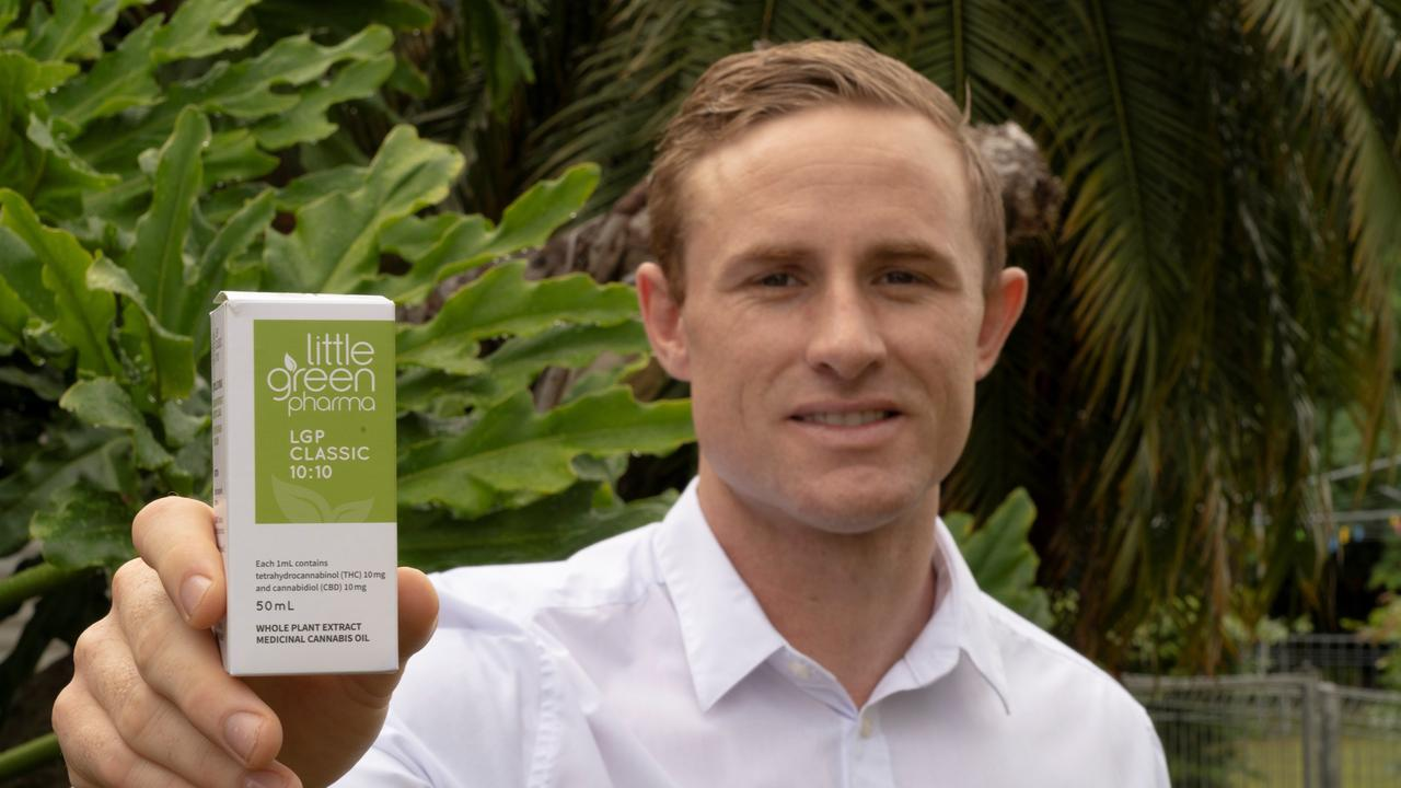 CREATING AWARENESS: Commonwealth Muay Thai champion and One Nation's candidate for Rockhampton Torin O'Brien has spoken about his struggles pain and his effort to remove the stigma surrounding medical cannabis oil.