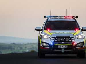 Cars collide with roaming cow on Peak Downs Highway