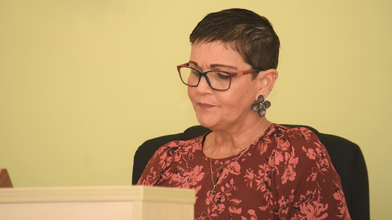 Lockyer Valley Regional Council mayor Tanya Milligan at the 2020-2021 budget meeting. PHOTO: ALI KUCHEL