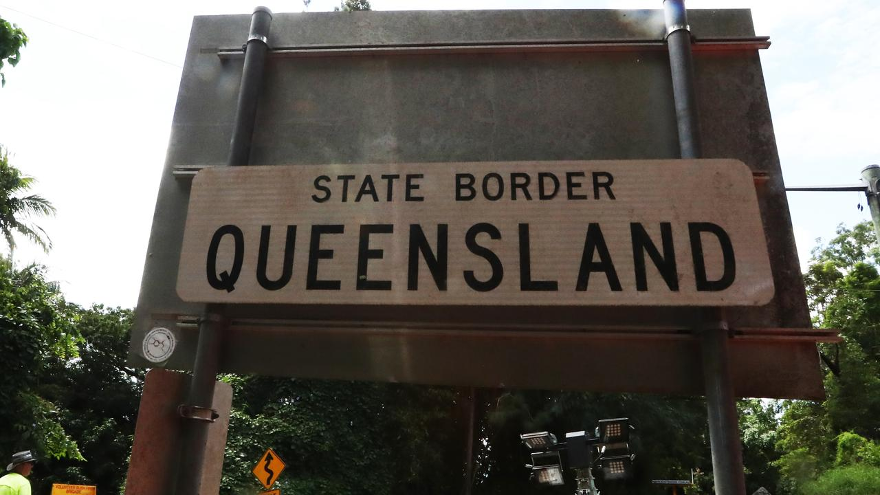 The state border should be moved 7km south, Mayor Tom Tate says. Picture: Jason O'Brien
