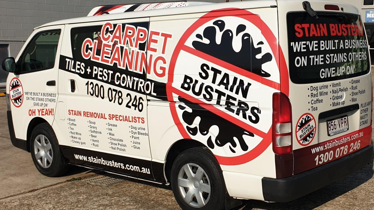 WHO YOU GONNA CALL: Carpet cleaning franchise StainBusters is looking to expand to the Bundaberg region.