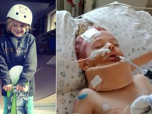 Community rallies for critical boy after horror bike crash