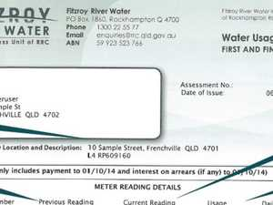 WATER BILLS: New RRC charges revealed in budget