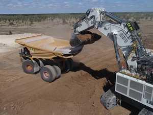 Work on Carmichael Mine box-cut under way
