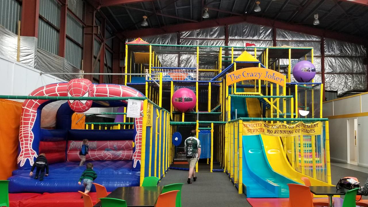 The Crazy Joker indoor play centre.