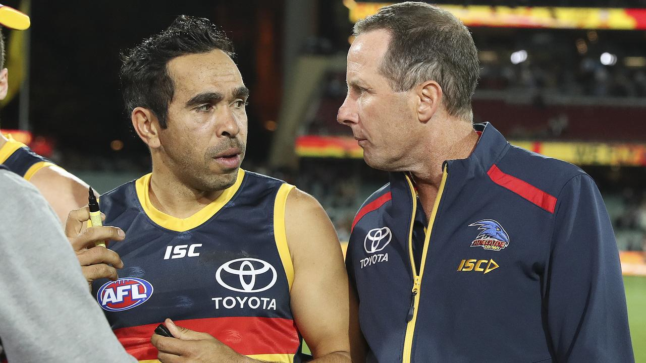 Both Eddie Betts and Don Pyke are no longer at the Crows. Picture: Sarah Reed