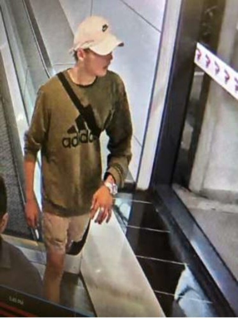 Wanted for questioning over an unarmed robbery on River Rd on Friday, November 8, 2019, 4:45pm. Photo: Police Media