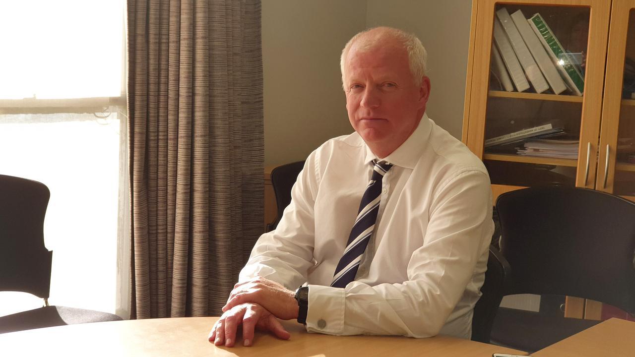 Chief executive of Northern NSW Local Health District Wayne Jones.