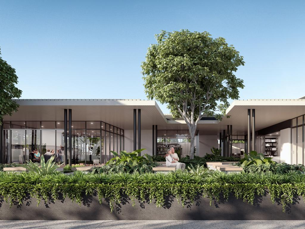 Artist impressions of the homes in B by Halcyon at Buderim.