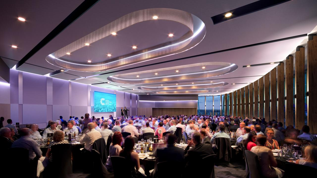 The Trinity Room will be able to be configured for large luncheons and other events. PICTURE: SUPPLIED