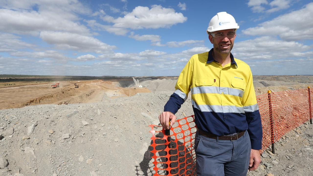 Bowen Coking Coal director Nick Jorss. Picture: Annette Dew