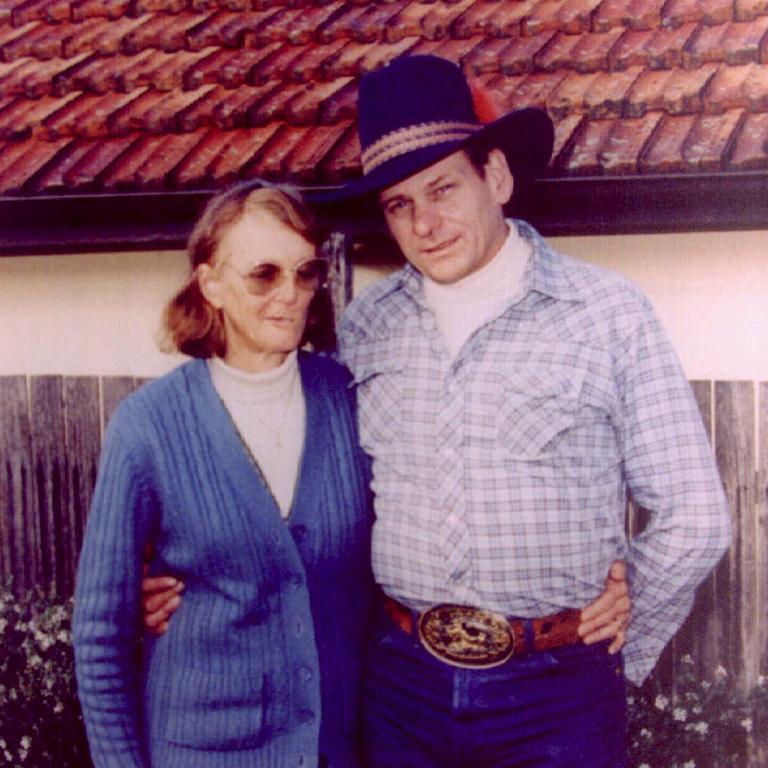 Arthurell with his last victim Venet Raylee Mulhall.