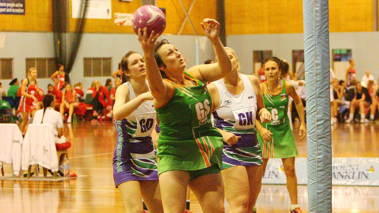 Outstanding shooter Brooke Dixon taking charge on the netball court. Picture: Jay Buchan