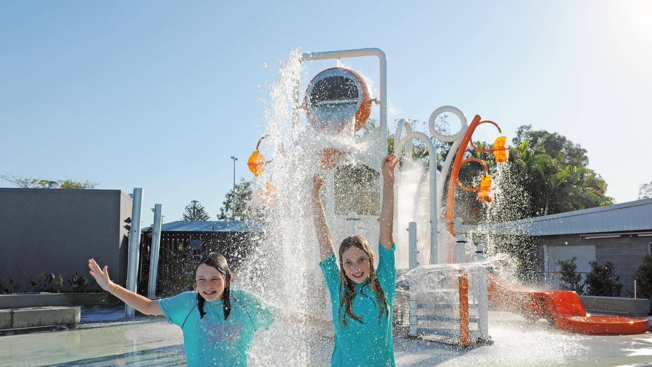 SPLASH BACK: Despite Splash Zone being closed for the first phase of the aquatic centre's reopening, Gladstone residents can enjoy other areas from tomorrow.