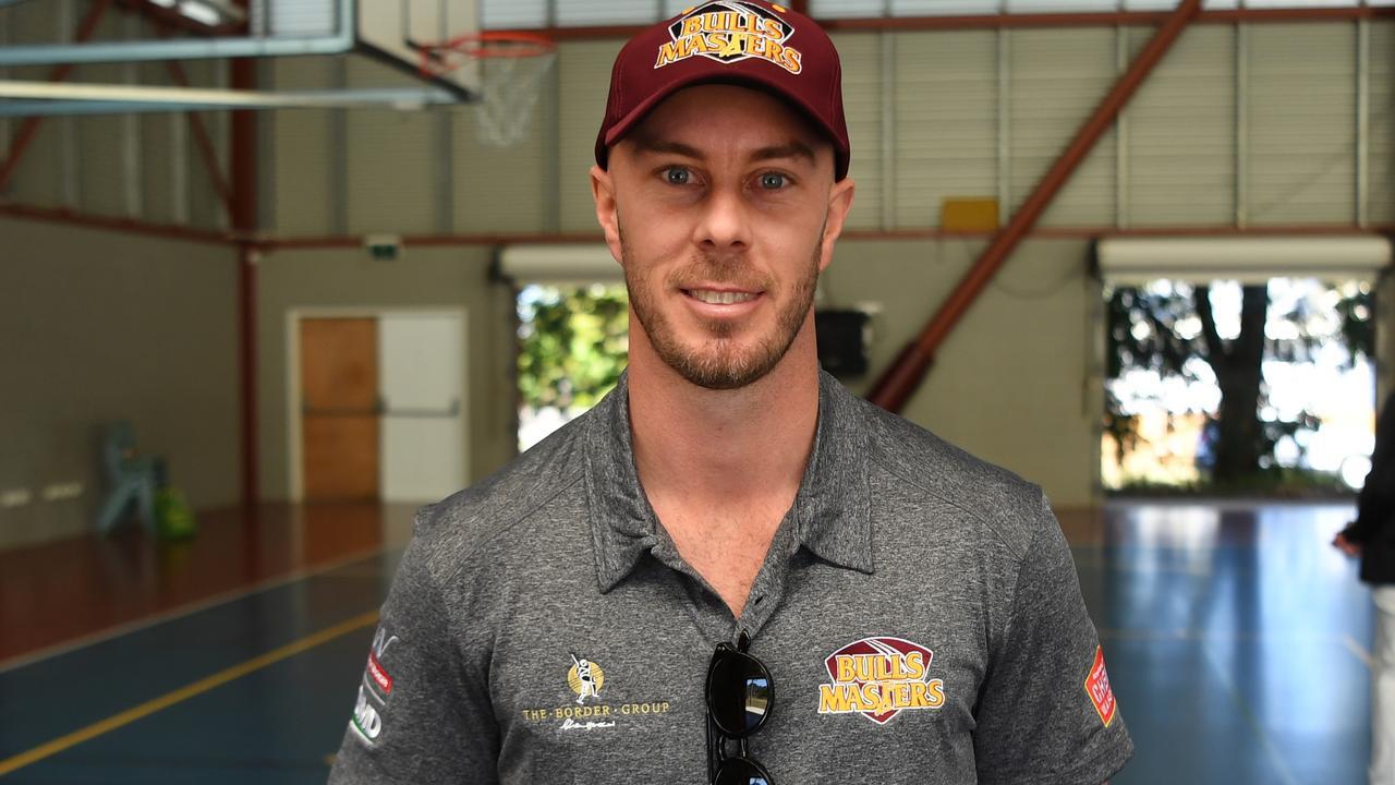 Brisbane Heat captain Chris Lynn is in Rockhampton as part of a Bulls Masters tour. Picture: Jann Houley