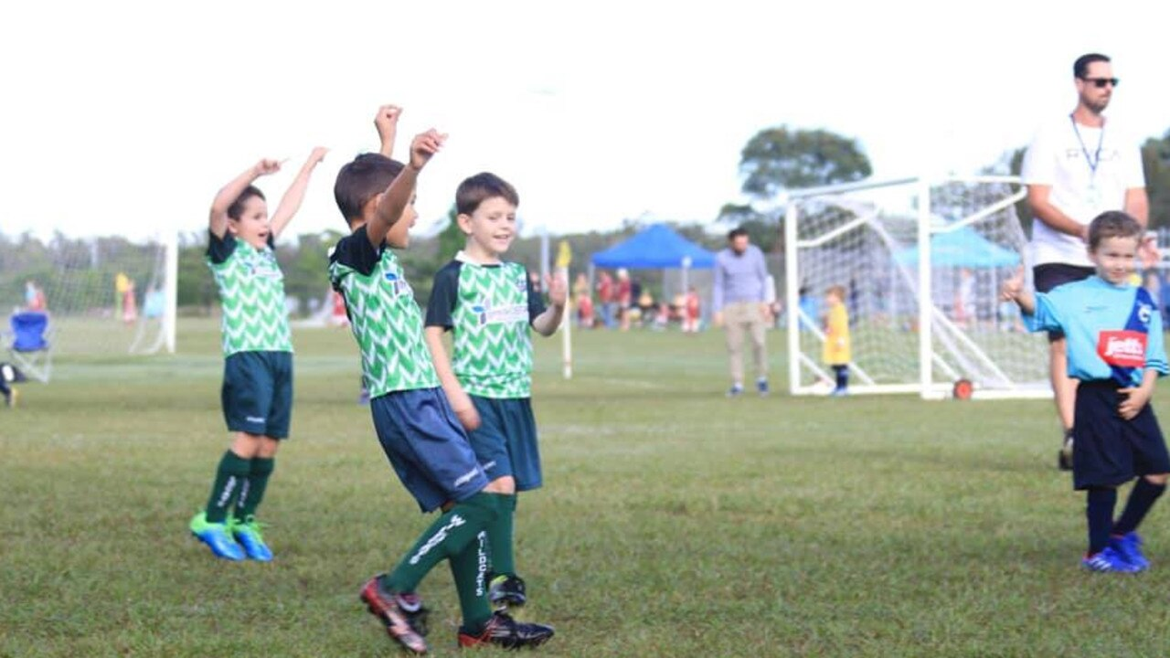 Community clubs including the Nambour Wildcats Soccer Club have benefited from Sundale Community Foundation grants.