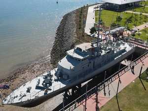 WATCH: Sneak peek inside the HMAS Gladstone attraction