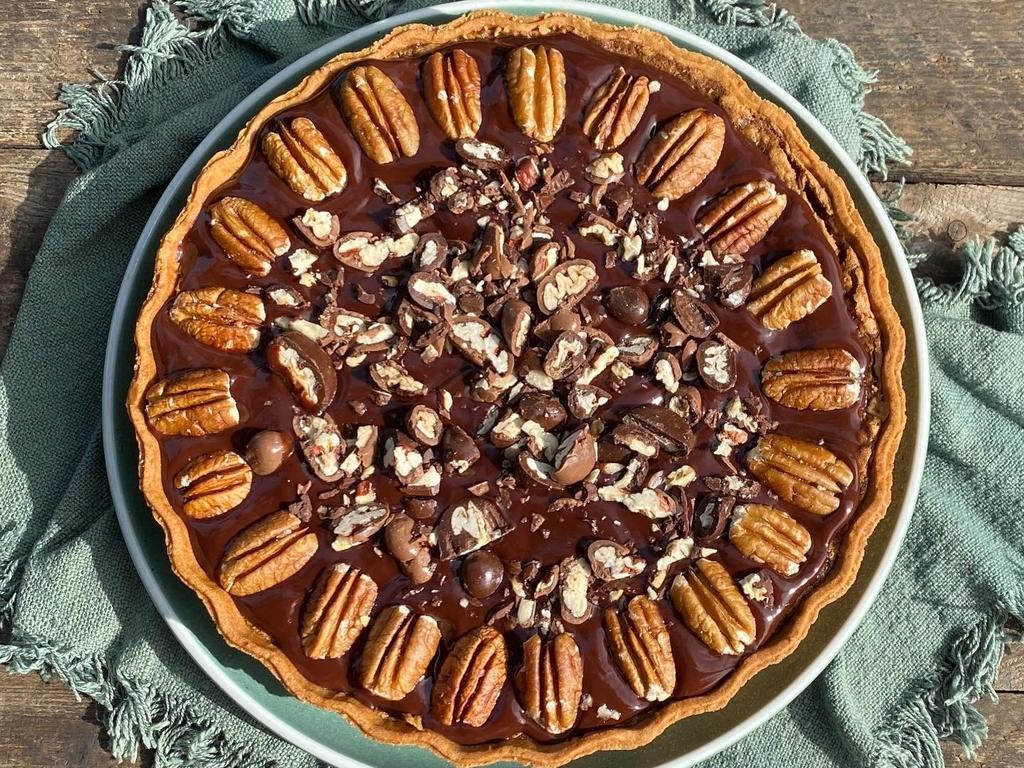 PADDOCK TO PLATE: Barefoot Farm Byron's Ashlee and Matt's famous pecan pies are available directly or through the many Northern Rivers Markets.