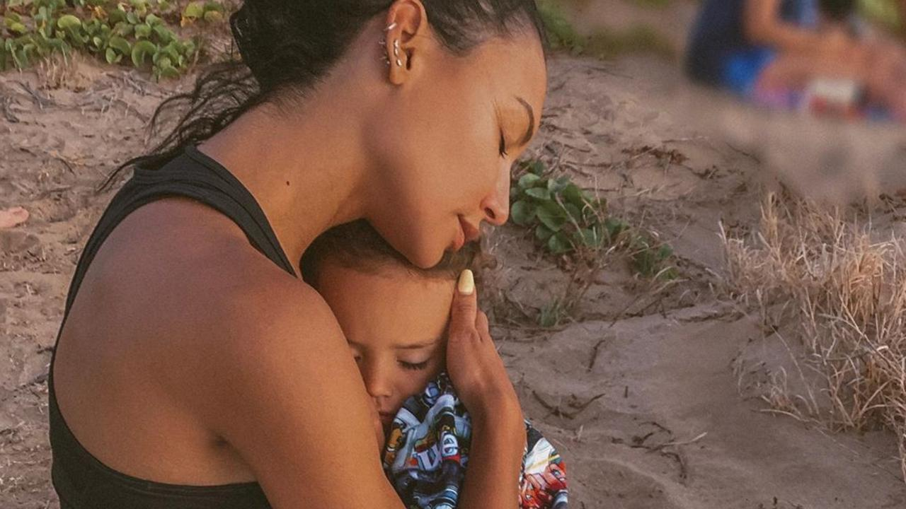 Naya Rivera and son Josey.