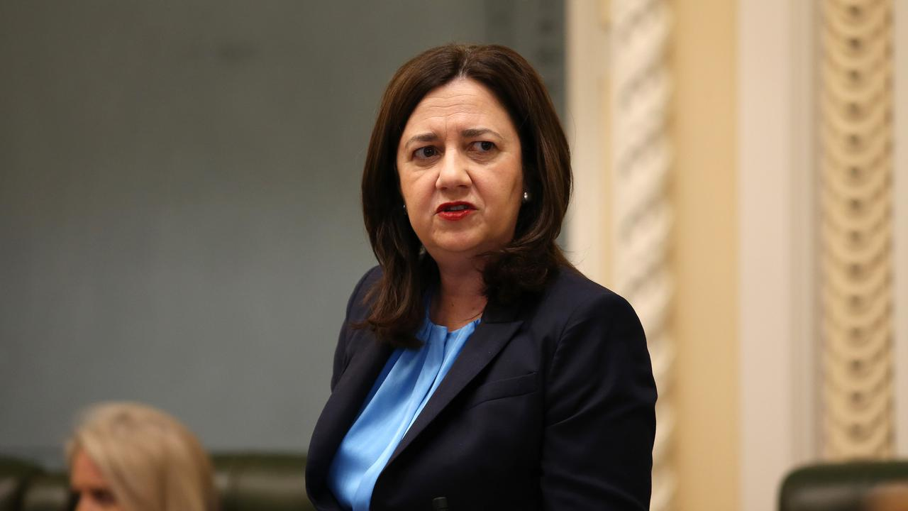 Premier Annastacia Palaszczuk during Question Time in parliament. Pics Tara Croser.