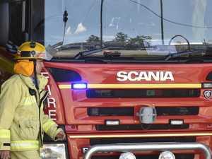 BREAKING: Crews battling blaze near Maryborough