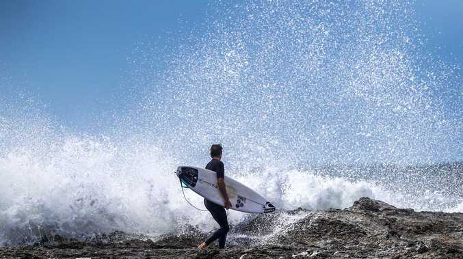 'Be cautious': Huge swell may close beaches