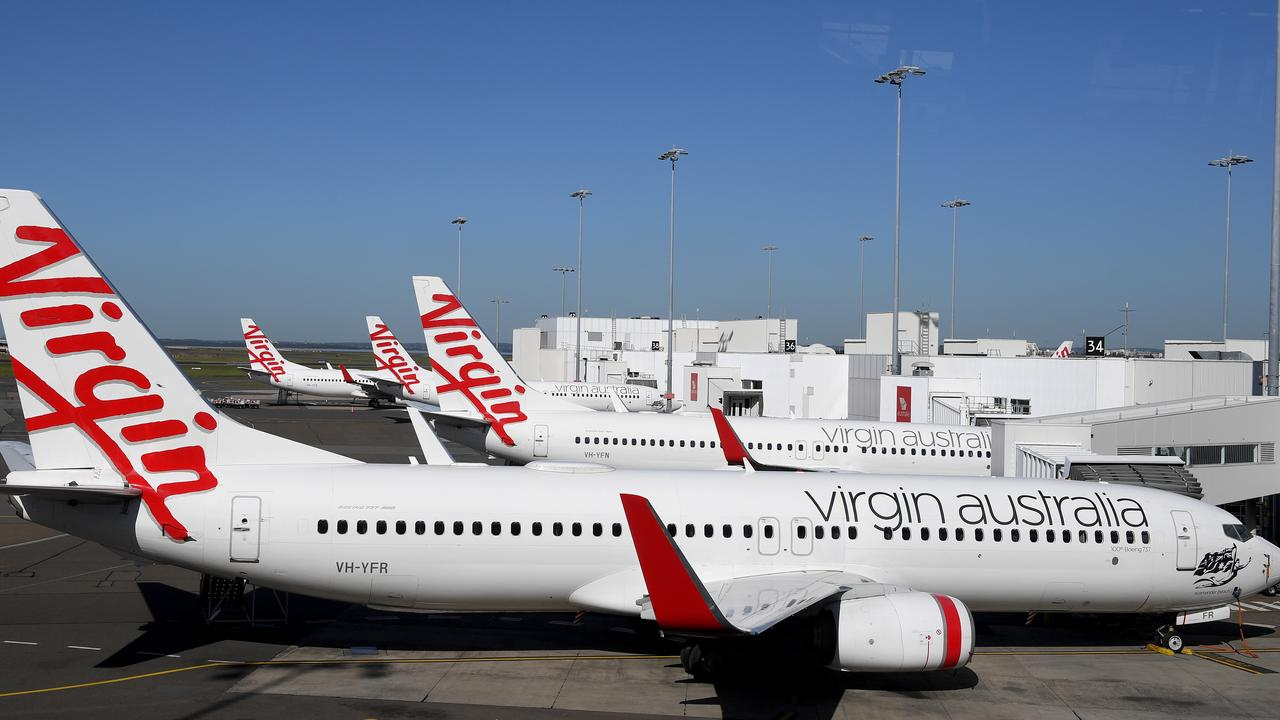 Some Virgin Australia aircraft have been grounded since April. (AAP Image/Dan Himbrechts)