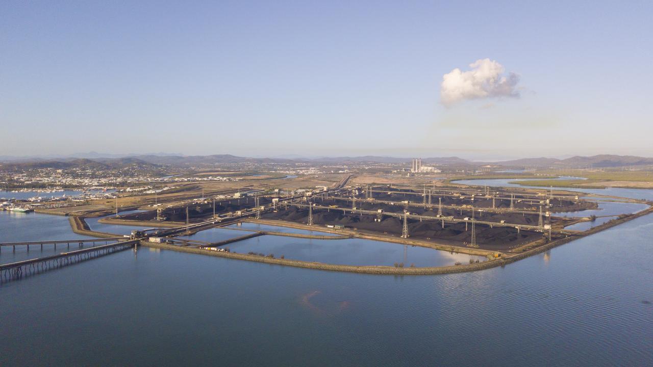 Gladstone Ports Corporations RG Tanna Coal Terminal.