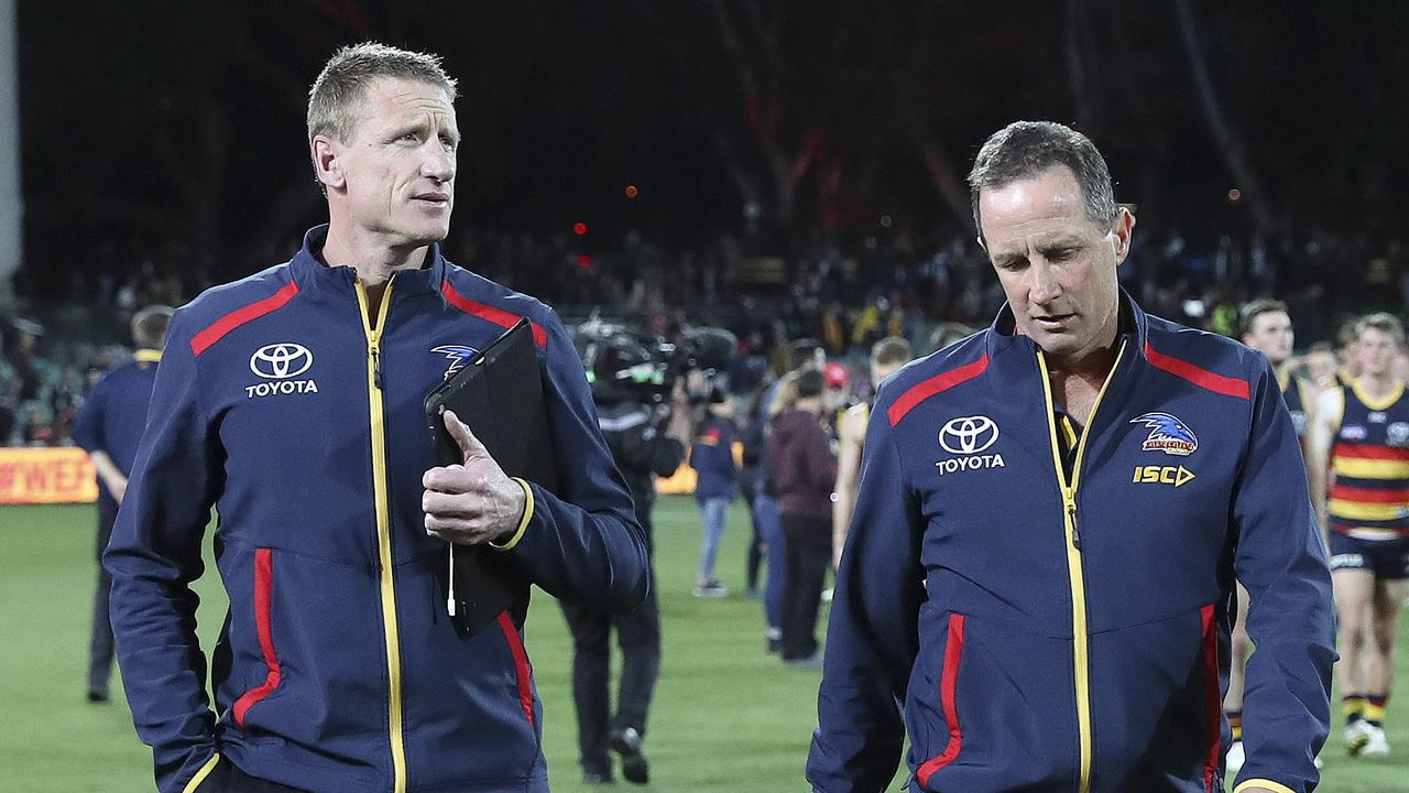 Fresh details have emerged surrounding the Adelaide Crows' infamous training camp (Picture SARAH REED).