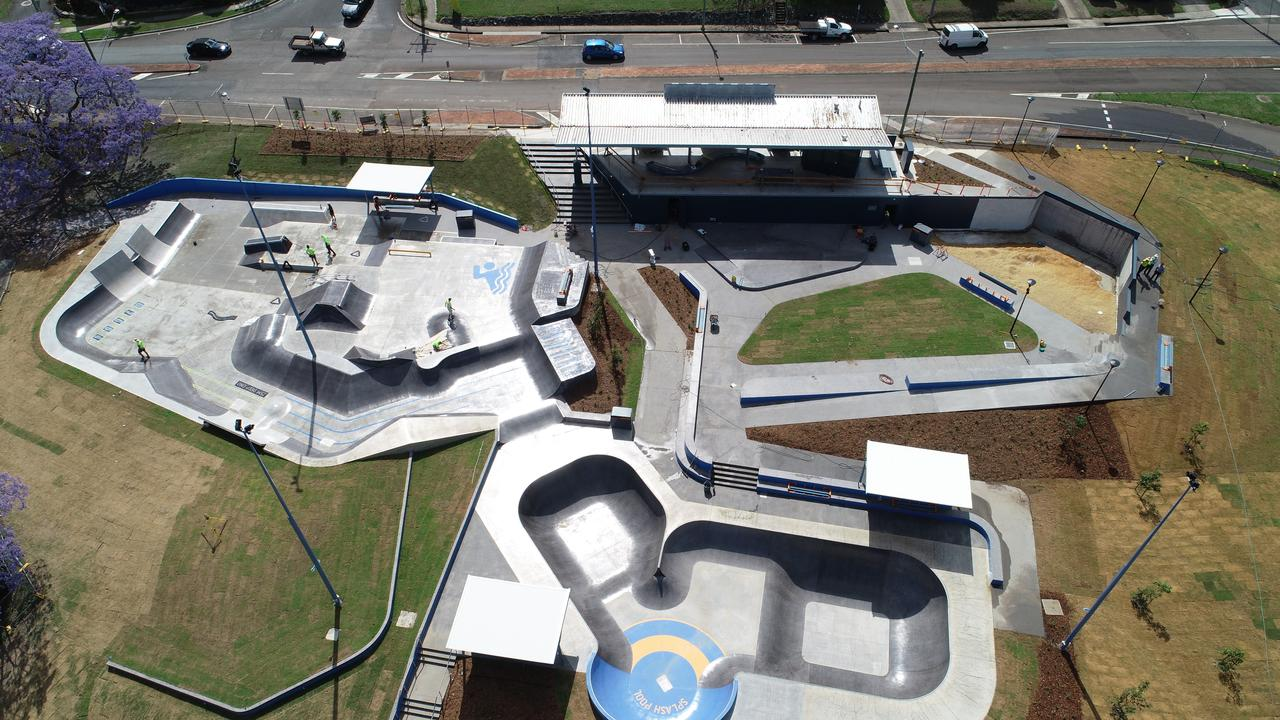 Gympie's skate park was one of the projects Ri-Con worked on.