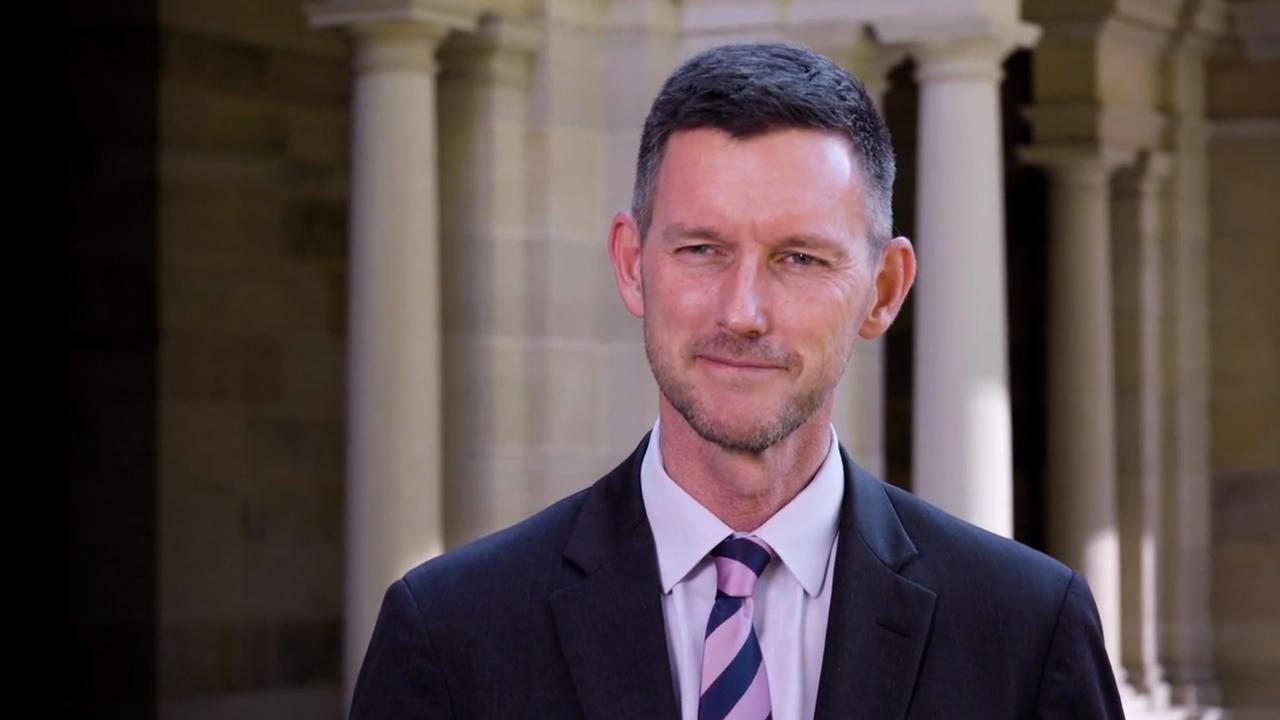 Queensland Main Roads Minister Mark Bailey.