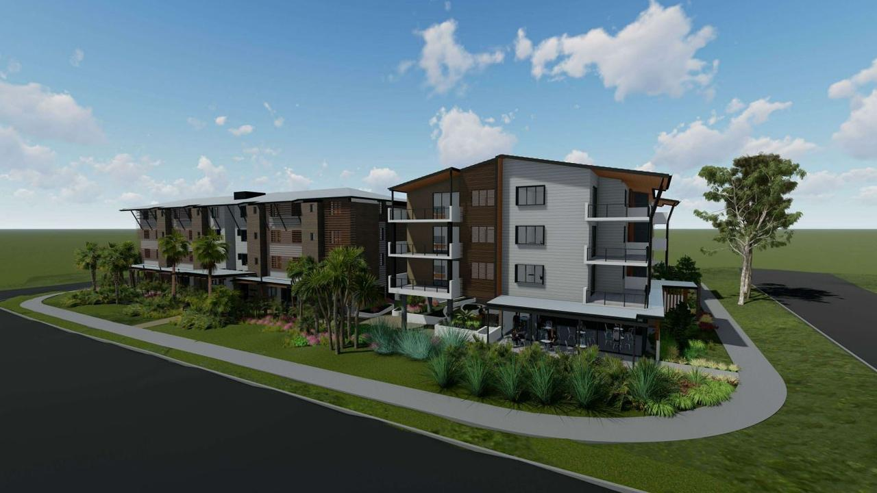 A developer plans to build a 93-bed retirement facility and separate 25-unit retirement facility on a block in Beerwah, nearby the train station.