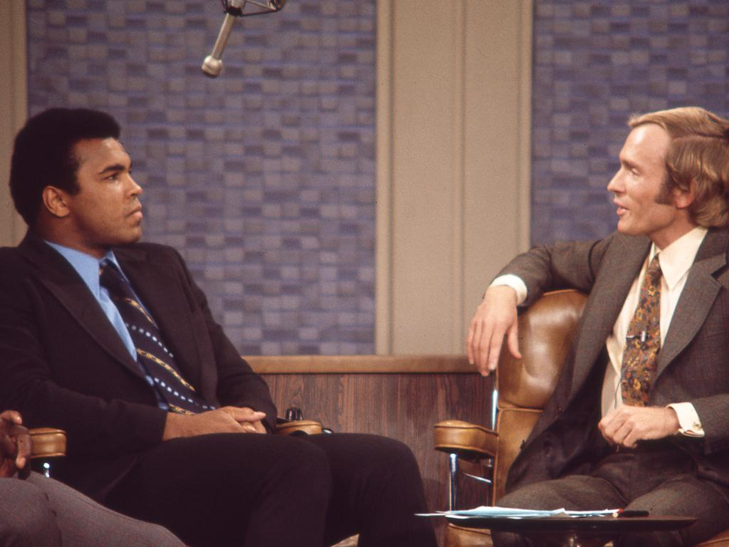 Scene from Ali & Cavett: The Tale of the Tapes. Picture: Supplied