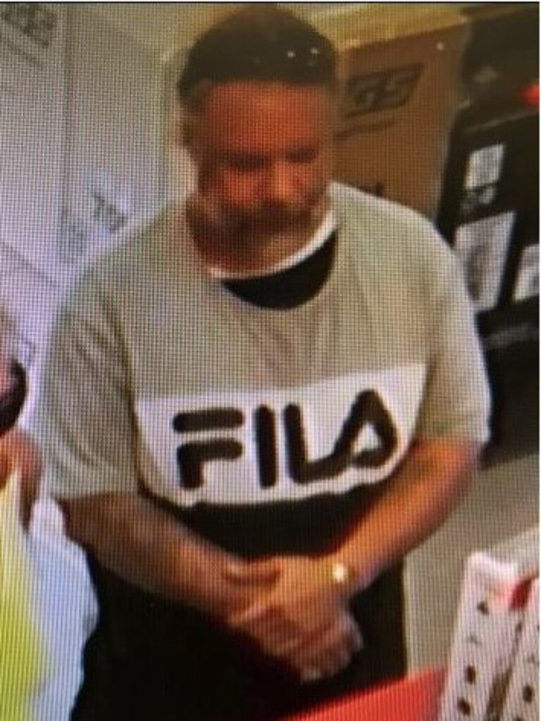 Police want to talk to the person pictured about stealing from a Mellor St business in March.
