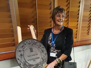 NANCY THE GREAT: Community Queen's double honour