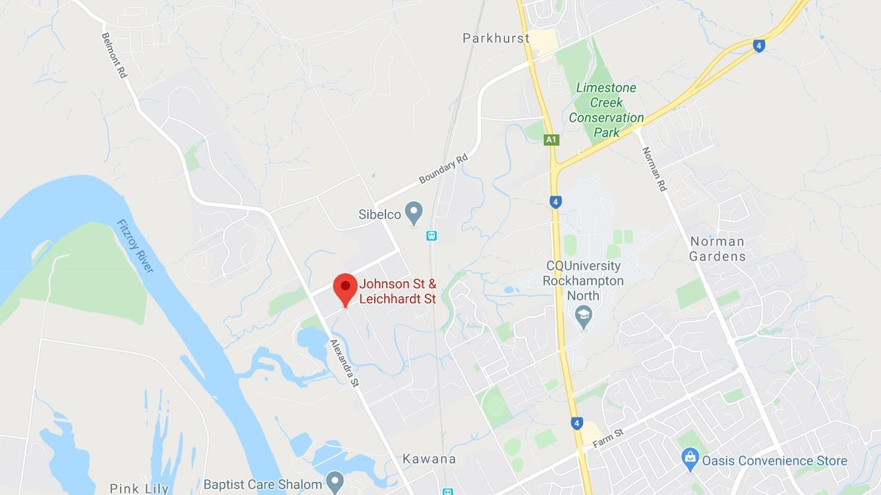 CRASH: Two vehicles have collided at the intersection of Johnson St and Leichardt St in Parkhurst, North Rockhampton.