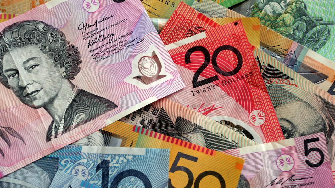 Australians are opting for electronic payments amid concerns coronavirus could be spread via cash.