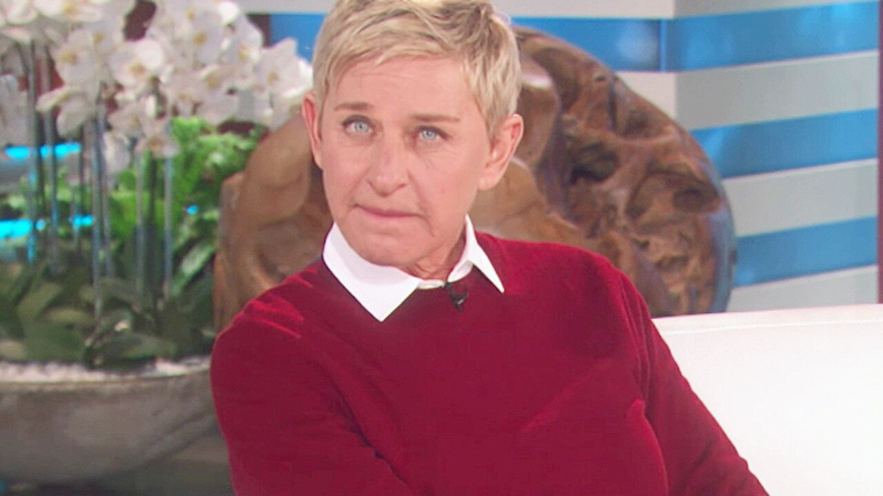 Ellen DeGeneres on The Ellen Show.
