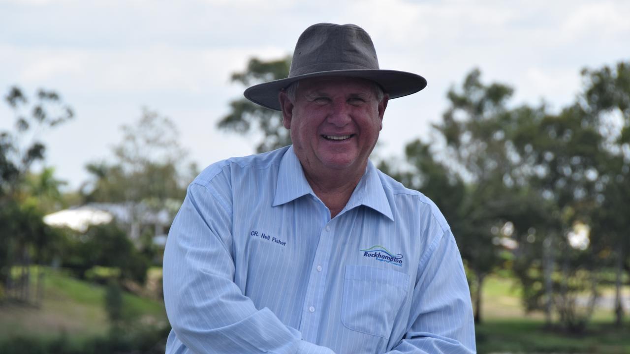 Rockhampton region Councillor Neil Fisher.