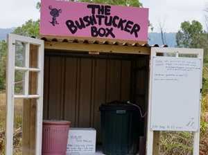 Fire victims angered by bushtucker box smash and grab